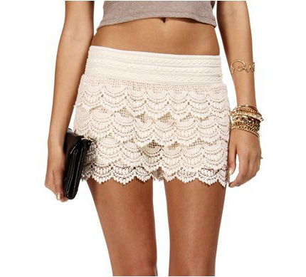 Crochet Lace Shorts On Luulla